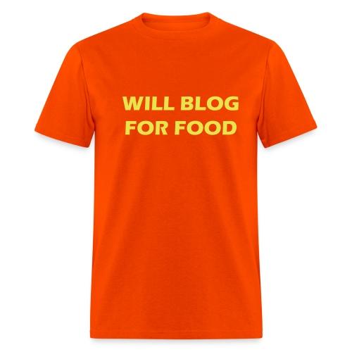 Blog T Shirt - Men's T-Shirt