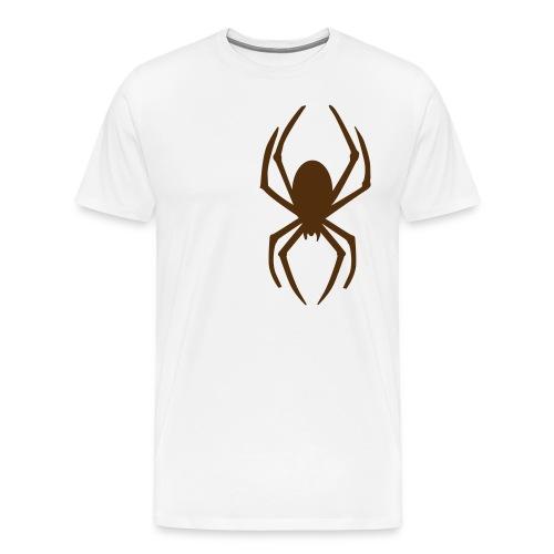 Spider T Khaki - Men's Premium T-Shirt