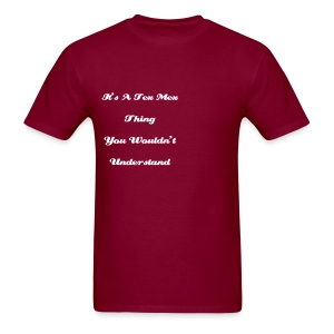 Tex Mex Thing Red T's - Men's T-Shirt