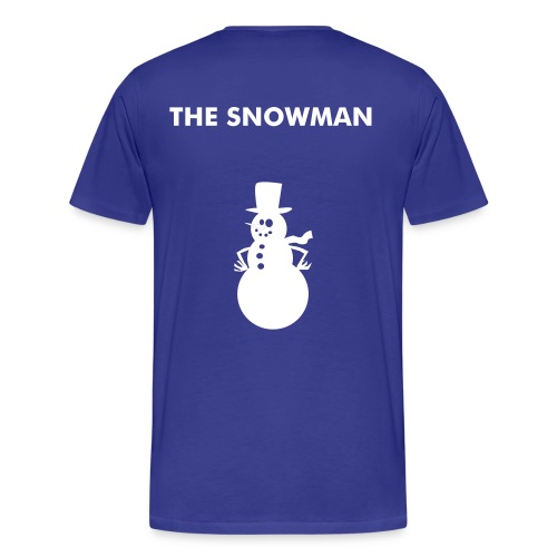 THE SNOWMAN - Men's Premium T-Shirt