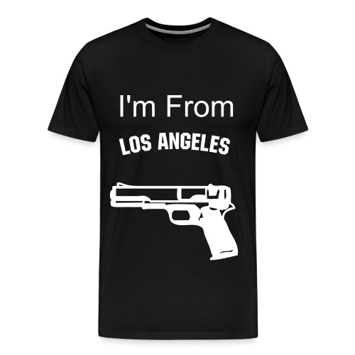 i'm from L.A. - Men's Premium T-Shirt