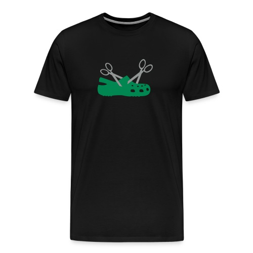 The Cheapest New Scissor Croc Tee - Men's Premium T-Shirt