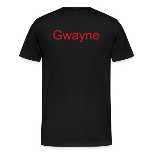 Tee Shirt(Gwayne) - Men's Premium T-Shirt