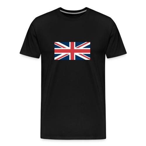 Union Jack Tee - Black - Men's Premium T-Shirt
