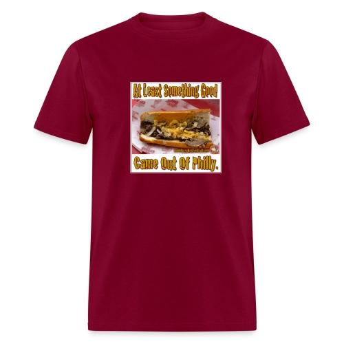 Philly Steak Burgandy Tee - Men's T-Shirt