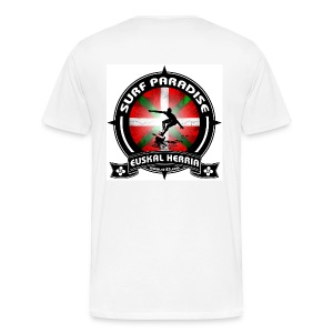Surf red design - Men's Premium T-Shirt
