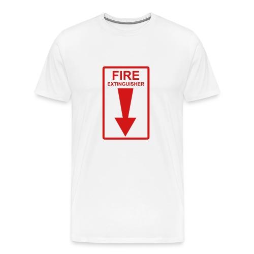 put the fire out - Men's Premium T-Shirt