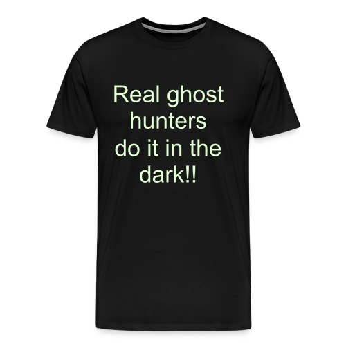 MENS real ghost hunters Glow Shirt - Men's Premium T-Shirt