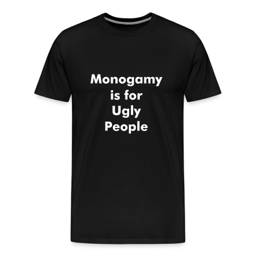 Monogamy - Men's Premium T-Shirt