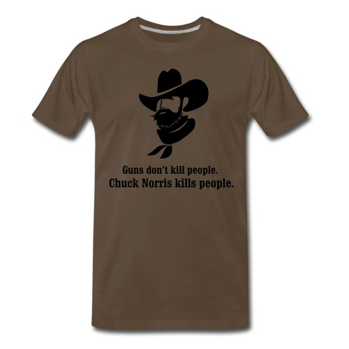Chuck Norris T - Men's Premium T-Shirt