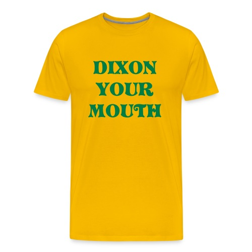 OREGON YELLOW - Men's Premium T-Shirt