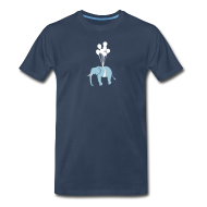 T-Shirts ~ Men's Premium T-Shirt ~ [elephant]