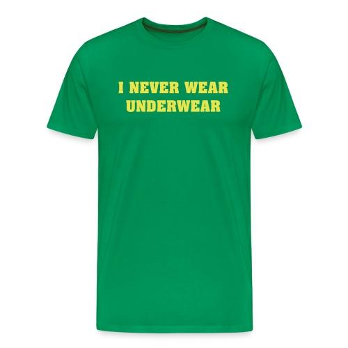 go comando - Men's Premium T-Shirt