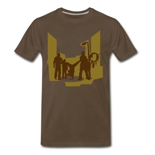 In the hood - Men's Premium T-Shirt