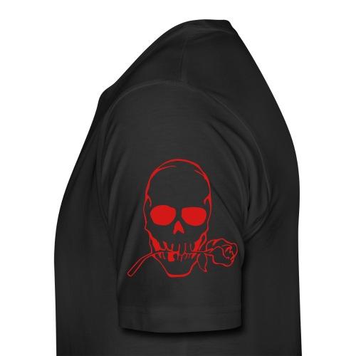 Men's Premium T-Shirt - Metal Mind Chaotic Soul Skull tee.