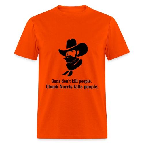 Men's T-Shirt - Chuck Norris knows.