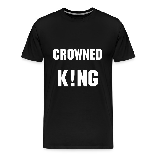 Crowned King - Men's Premium T-Shirt