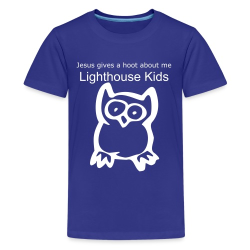 Jesus Gives a Hoot - Kids' Premium T-Shirt