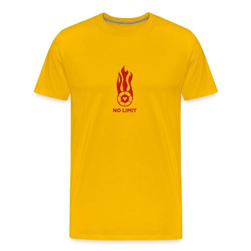 no limit yellow - Men's Premium T-Shirt