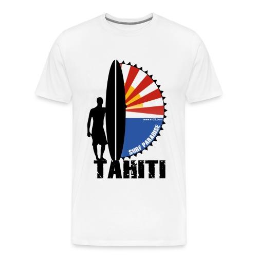 Tahiti paradise - Men's Premium T-Shirt