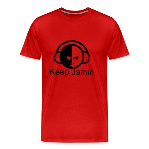 Men's Premium T-Shirt - Just right for a person who likes to listen to music constantly. Oh wait, that's me.LOL