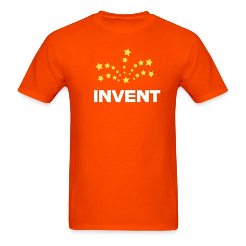 Invent (orange) - Men's T-Shirt