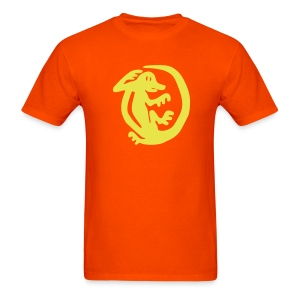 Orange Iguanas - Men's T-Shirt