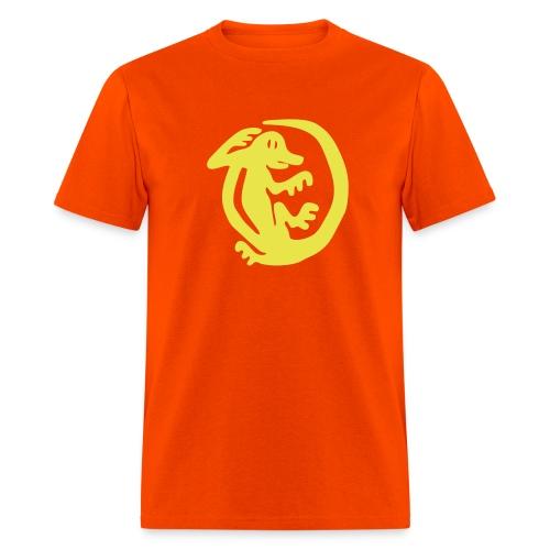 Orange Iguanas - Men's T-Shirt