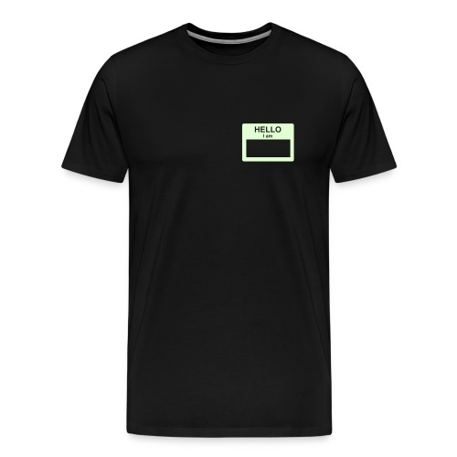 Hello, my name is... - Men's Premium T-Shirt