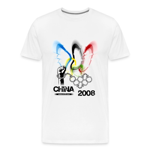 beijing 2008 (china) - Men's Premium T-Shirt