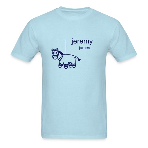 Baby Blue Pinata Tee - Men's T-Shirt