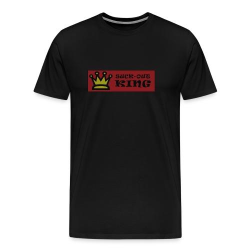 Suck-Out King Heavyweight Tee (Asst Colors) - Men's Premium T-Shirt