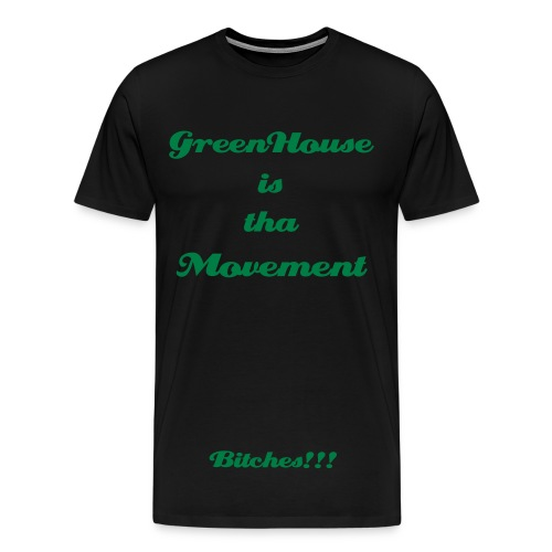 tha Movement Tee - Men's Premium T-Shirt