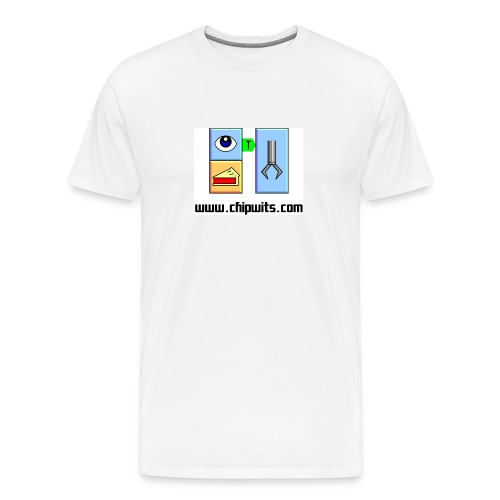 Heavyweight cotton T-Shirt - IFSEE PIE, PICKUP - Men's Premium T-Shirt