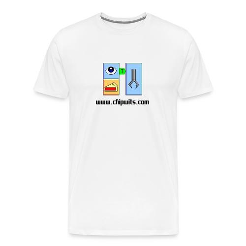 Heavyweight cotton T-Shirt - IFSEE PIE, PICKUP - Men's Premium T-Shirt