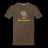 T-Shirts ~ Men's Premium T-Shirt ~ Heavyweight cotton T-Shirt - Chipwit (chocolate)