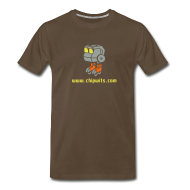 T-Shirts ~ Men's Premium T-Shirt ~ Heavyweight cotton T-Shirt - Chipwit (chocolate)