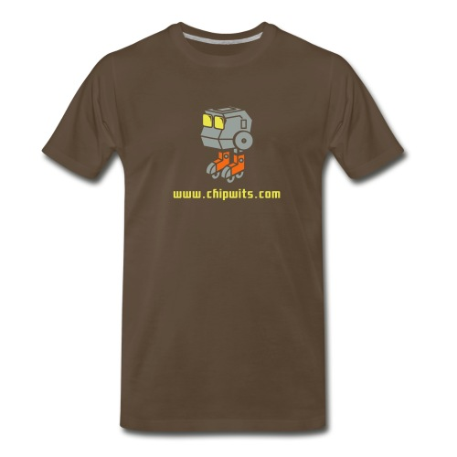 Heavyweight cotton T-Shirt - Chipwit (chocolate) - Men's Premium T-Shirt