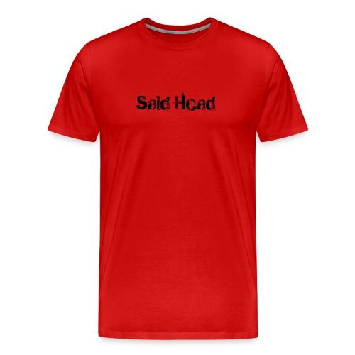 Said Head Red Tee - Men's Premium T-Shirt