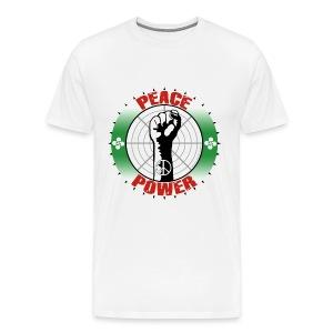 Peace power - Men's Premium T-Shirt