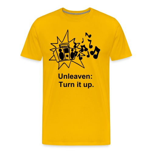 Turn it up! - Men's Premium T-Shirt