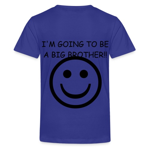 BorZING - I'm going to be a big brother! - Kids' Premium T-Shirt