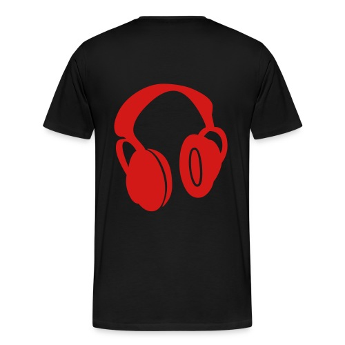 I love hip hop Tee(Black) - Men's Premium T-Shirt