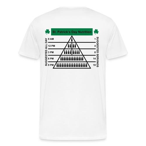 The Beer Pyramid T Shirt - Men's Premium T-Shirt