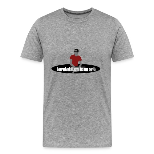 turntabelism tee - Men's Premium T-Shirt