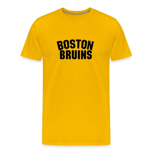 Boston Bruins Alternate - Men's Premium T-Shirt
