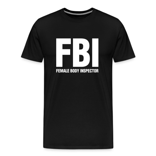 FBI T-Shirt - Men's Premium T-Shirt