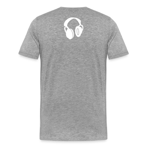 HARD TO GET ME OUTTA THE BOOTH - Men's Premium T-Shirt