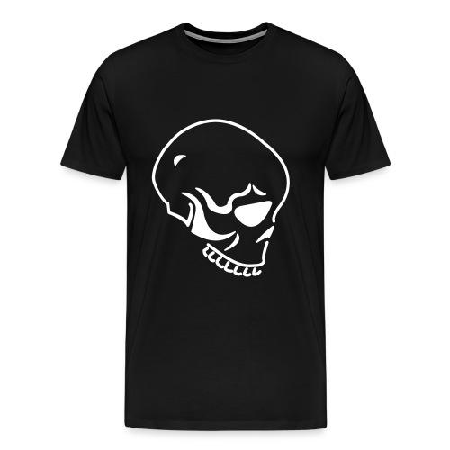 skull black - Men's Premium T-Shirt