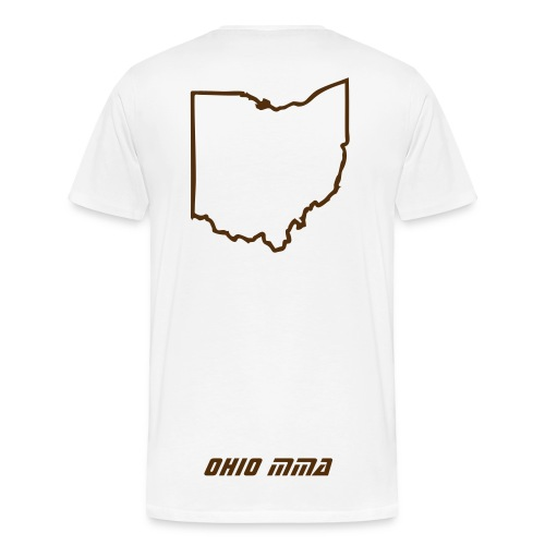 Stay Down: Ohio MMA - Men's Premium T-Shirt